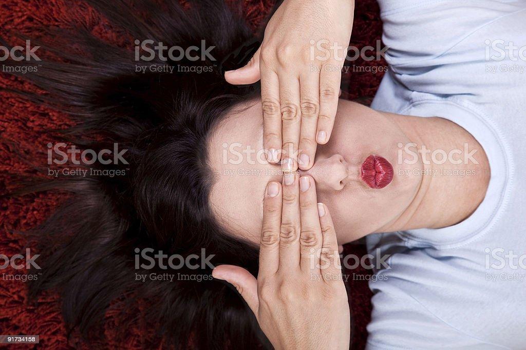 Kiss Dreaming stock photo
