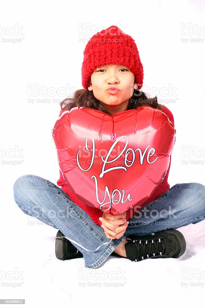 Kiss For You royalty-free stock photo