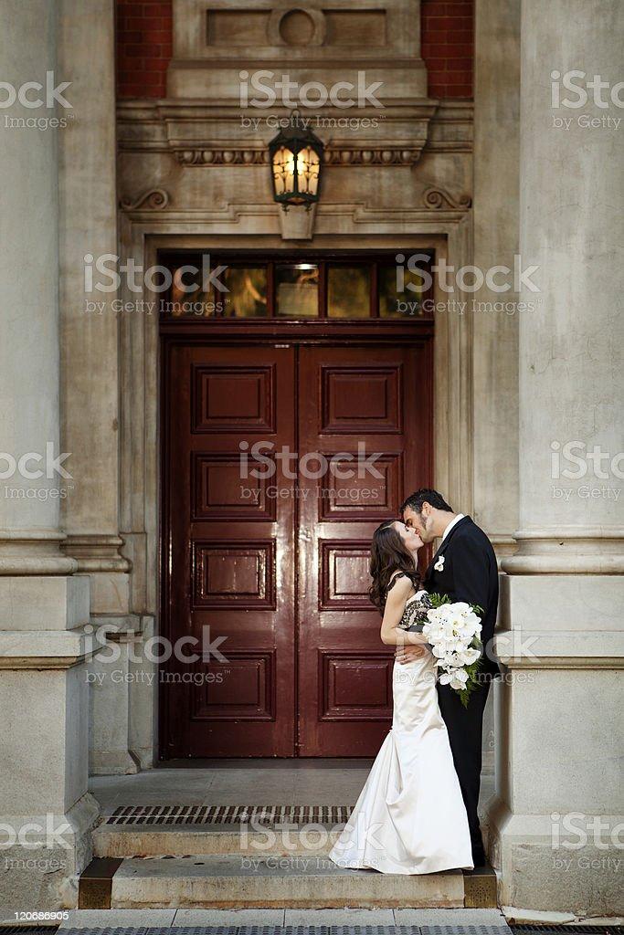 Kiss me royalty-free stock photo