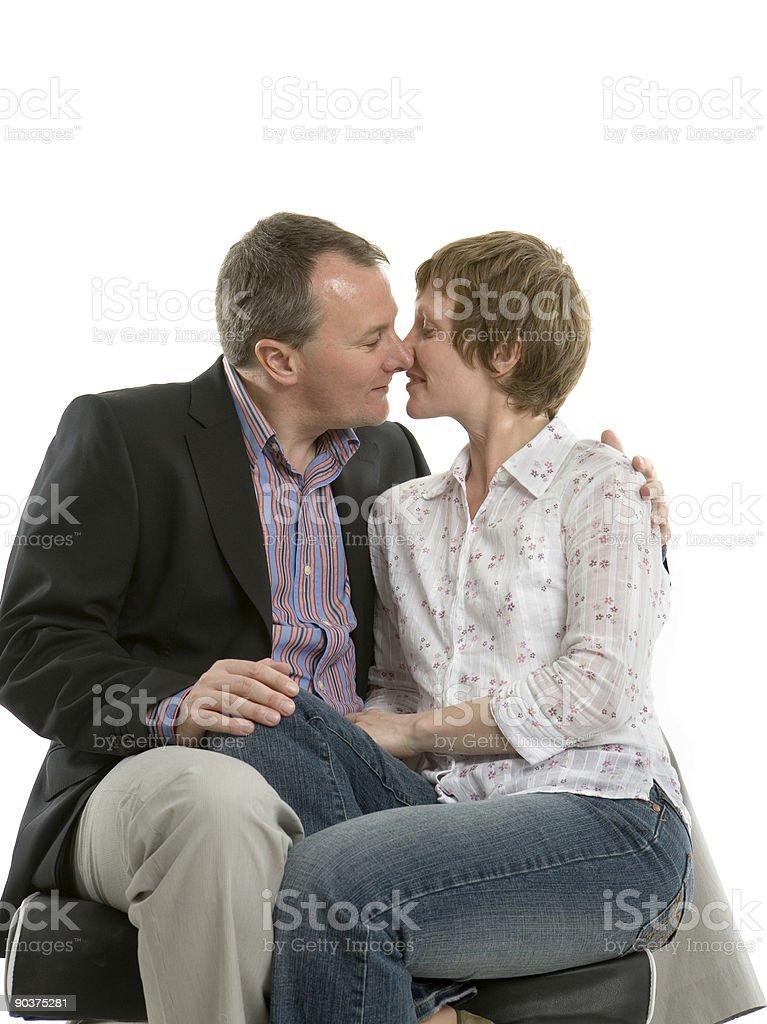 Kiss my wife royalty-free stock photo