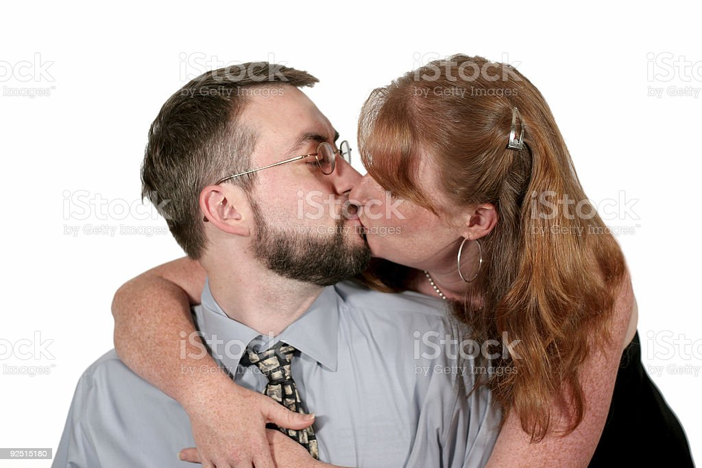 Kiss. stock photo