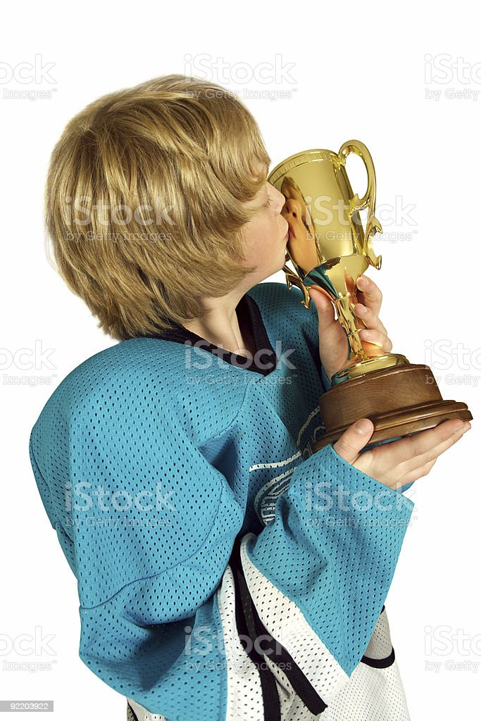 Kiss the cup royalty-free stock photo