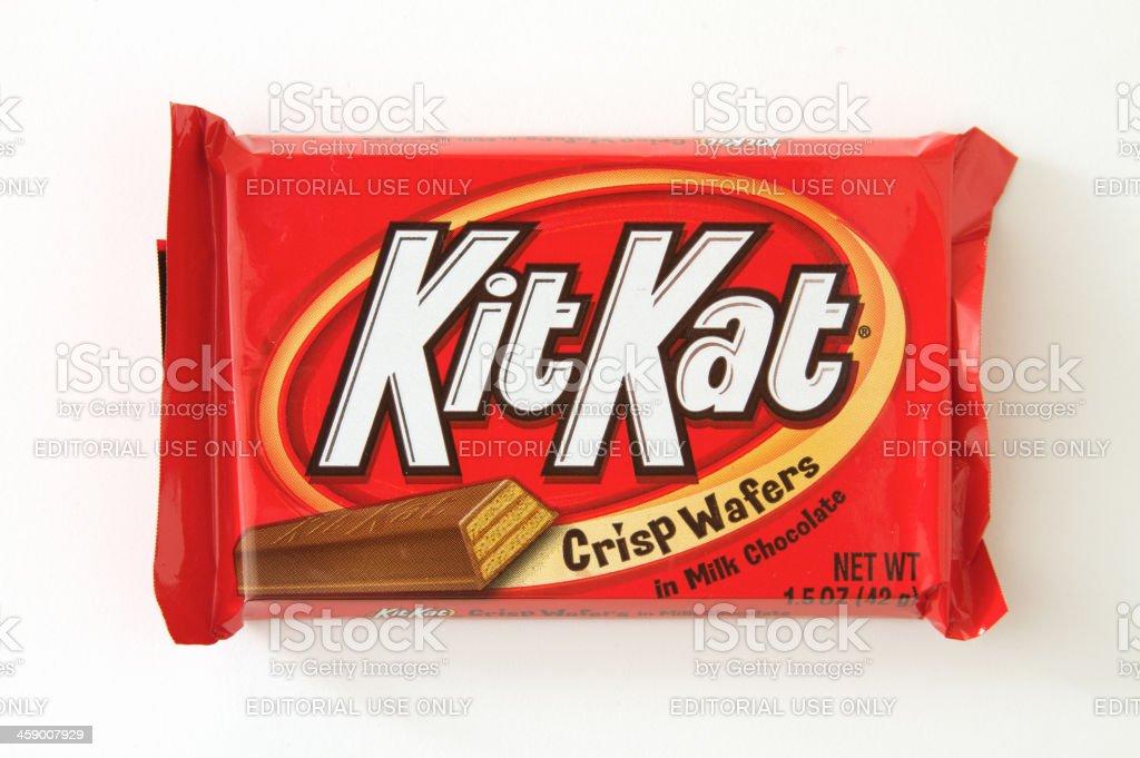 Kit Kat Candy stock photo