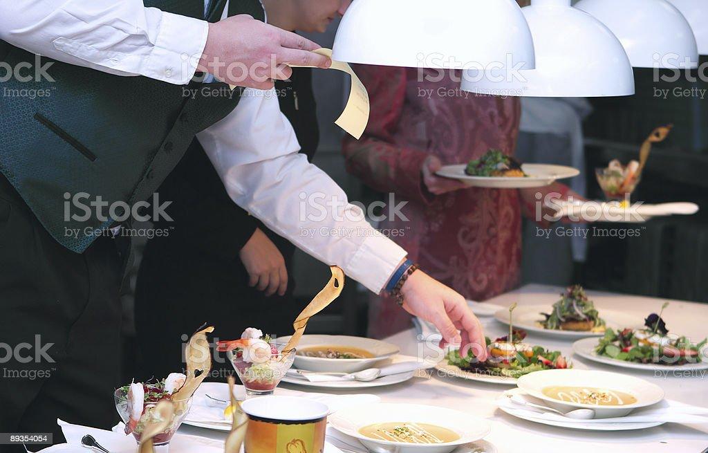 Kitchen action royalty-free stock photo