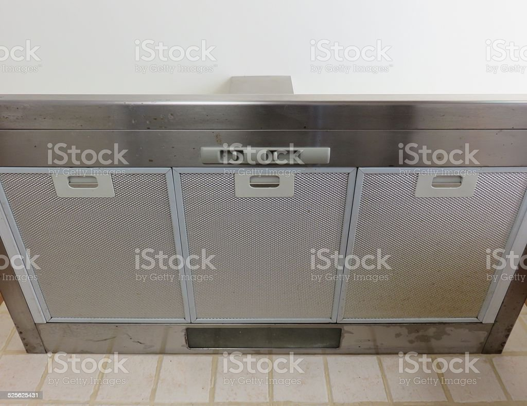 Kitchen air cleaner stock photo
