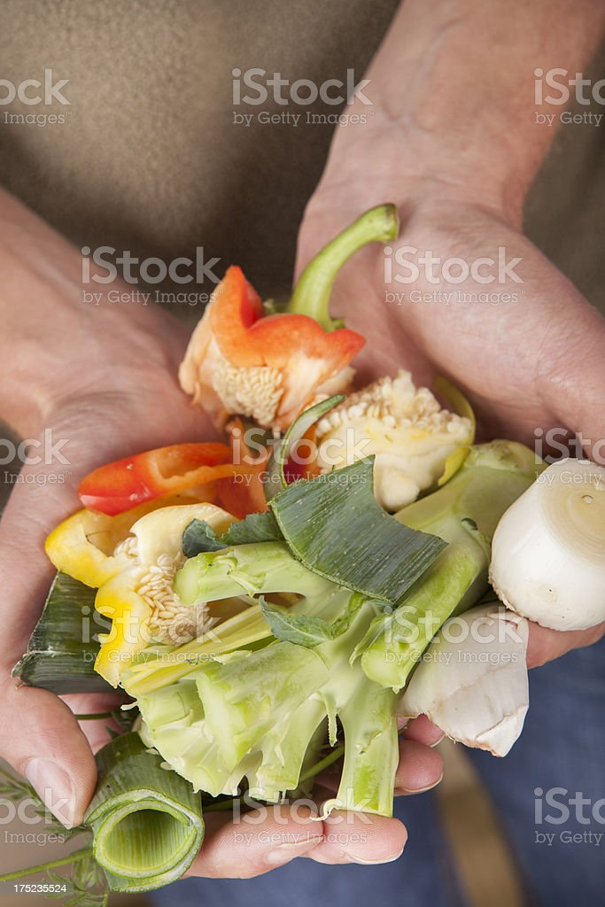 Kitchen and Garden Waste royalty-free stock photo