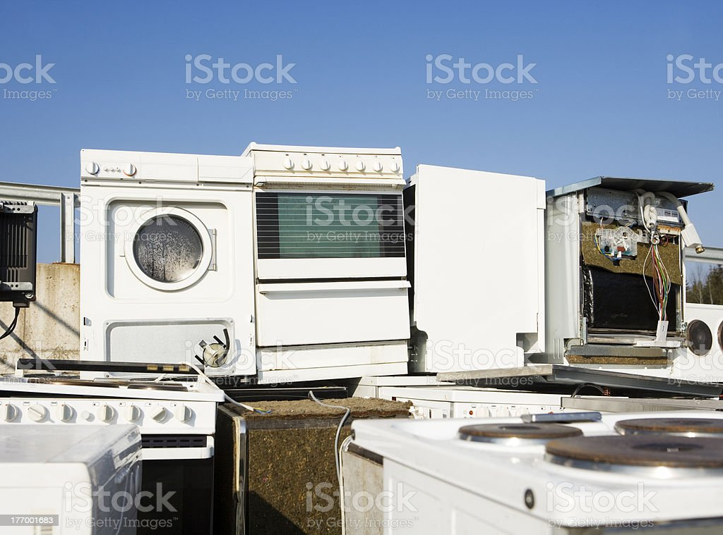 Kitchen Appliance Garbage royalty-free stock photo
