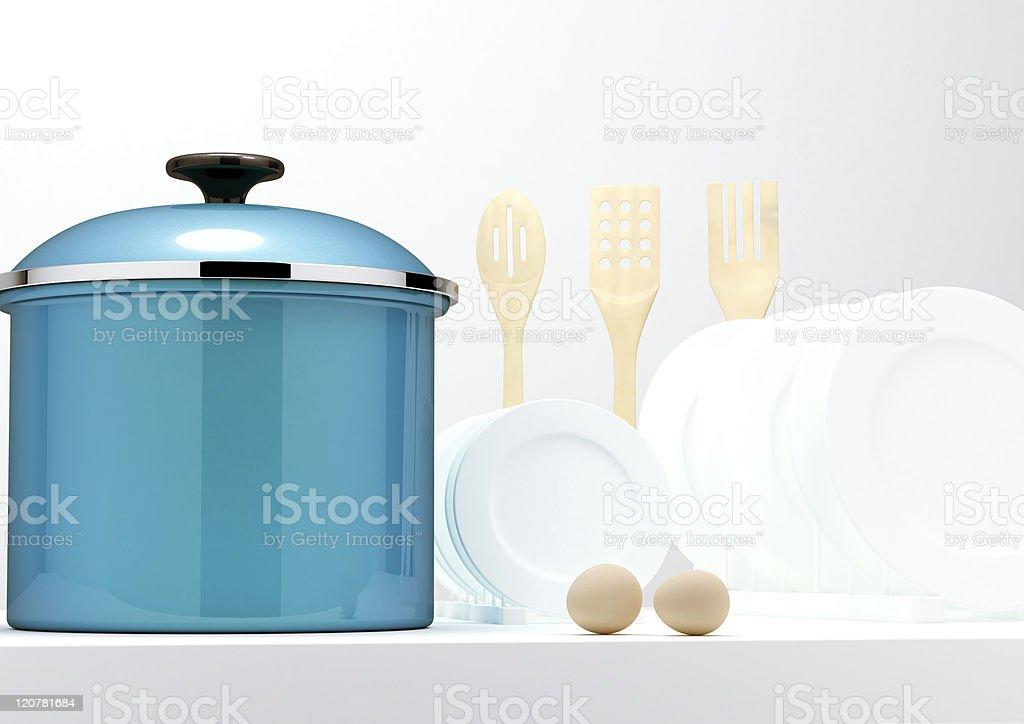 Kitchen appliances royalty-free stock photo