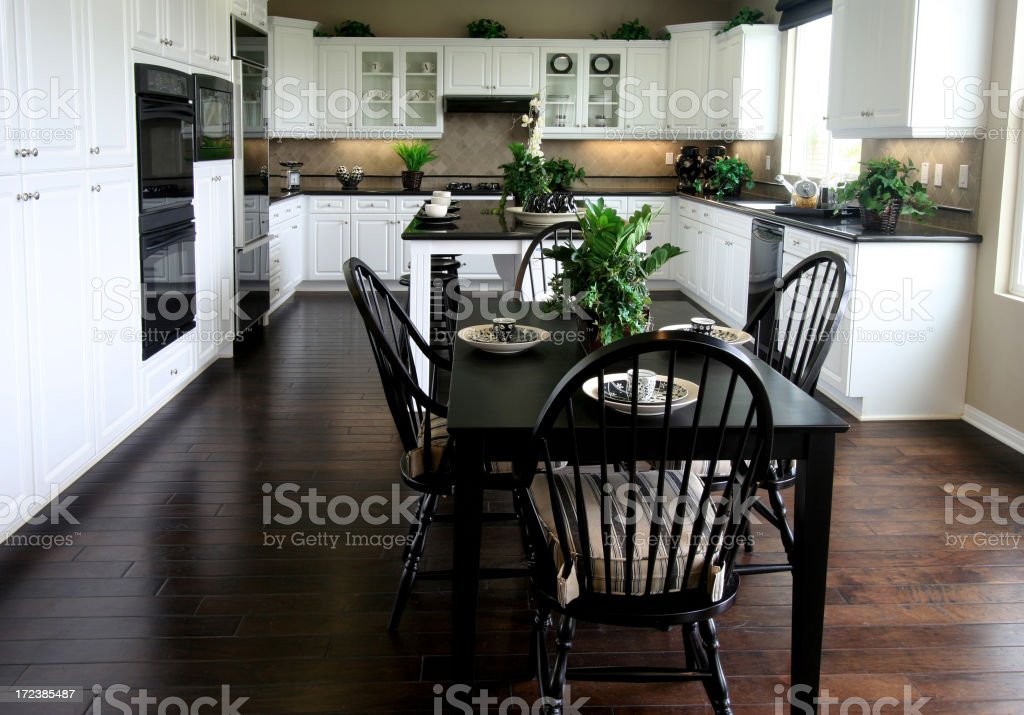 Kitchen & Breakfast Nook royalty-free stock photo