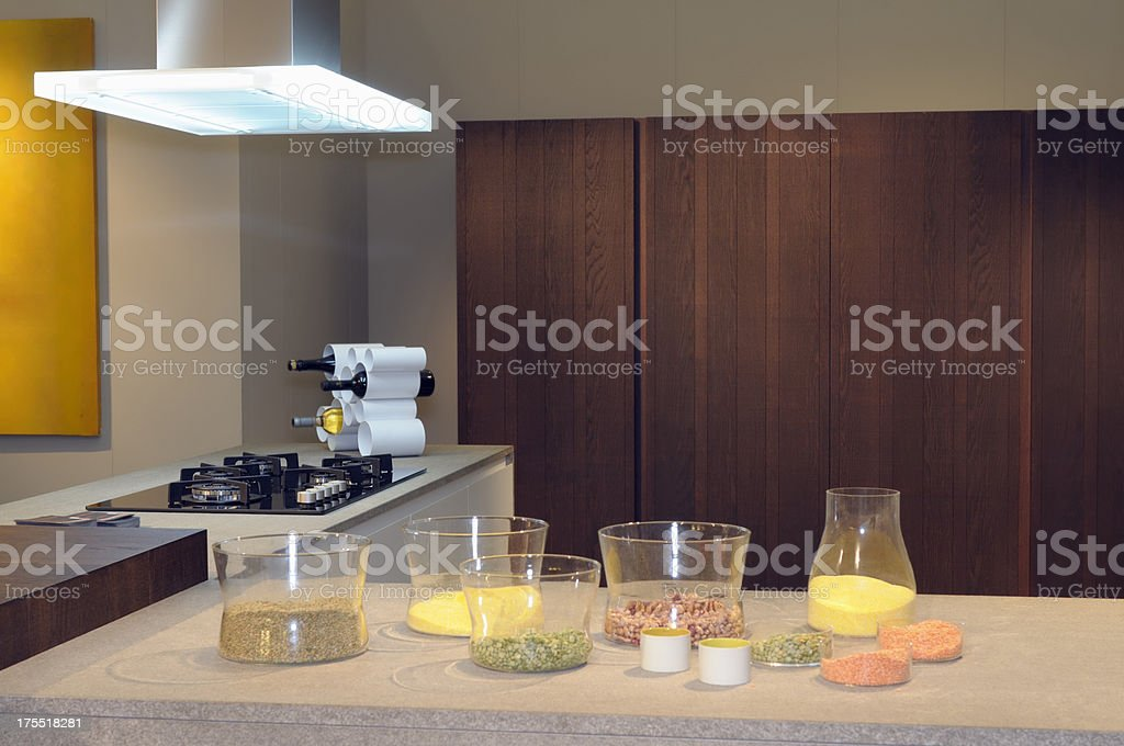 Kitchen by Italy stock photo