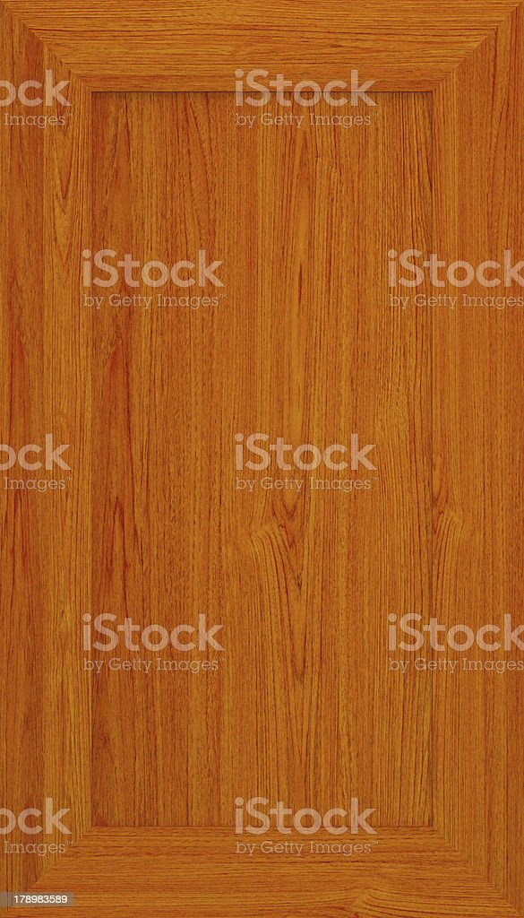 Kitchen cabinet door stock photo