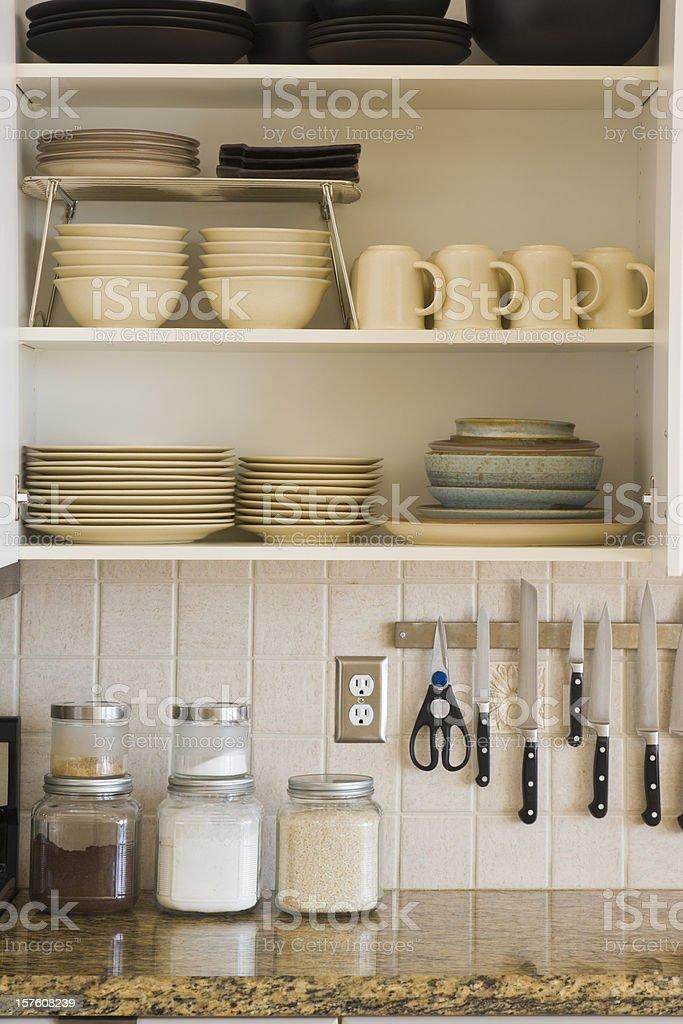Kitchen Cabinet stock photo