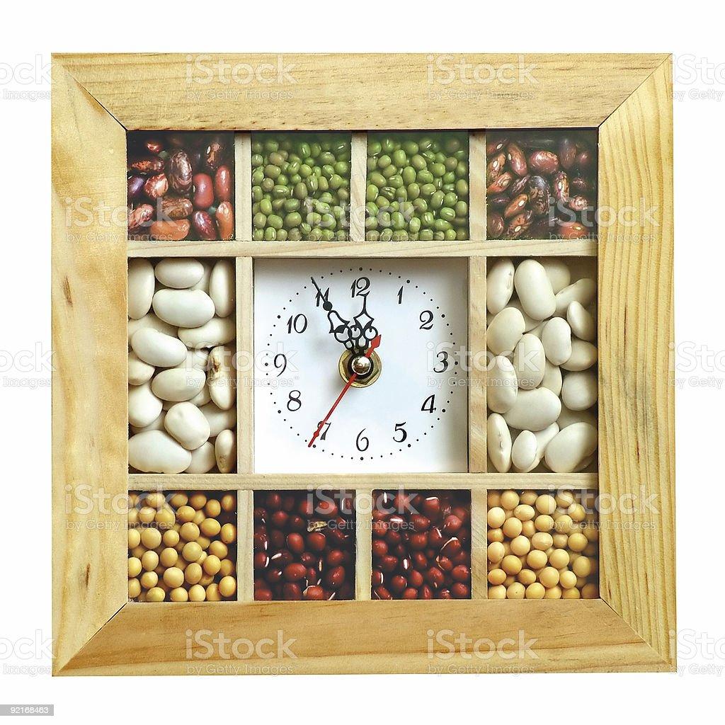 Kitchen clock royalty-free stock photo