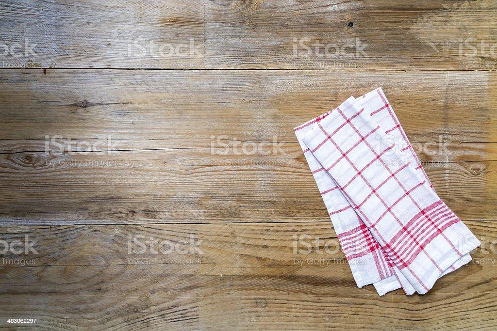 Kitchen cloth background stock photo