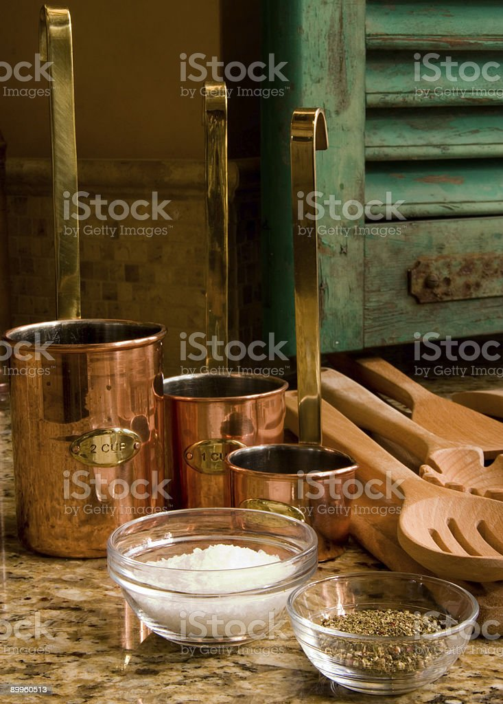 Kitchen De Provence royalty-free stock photo