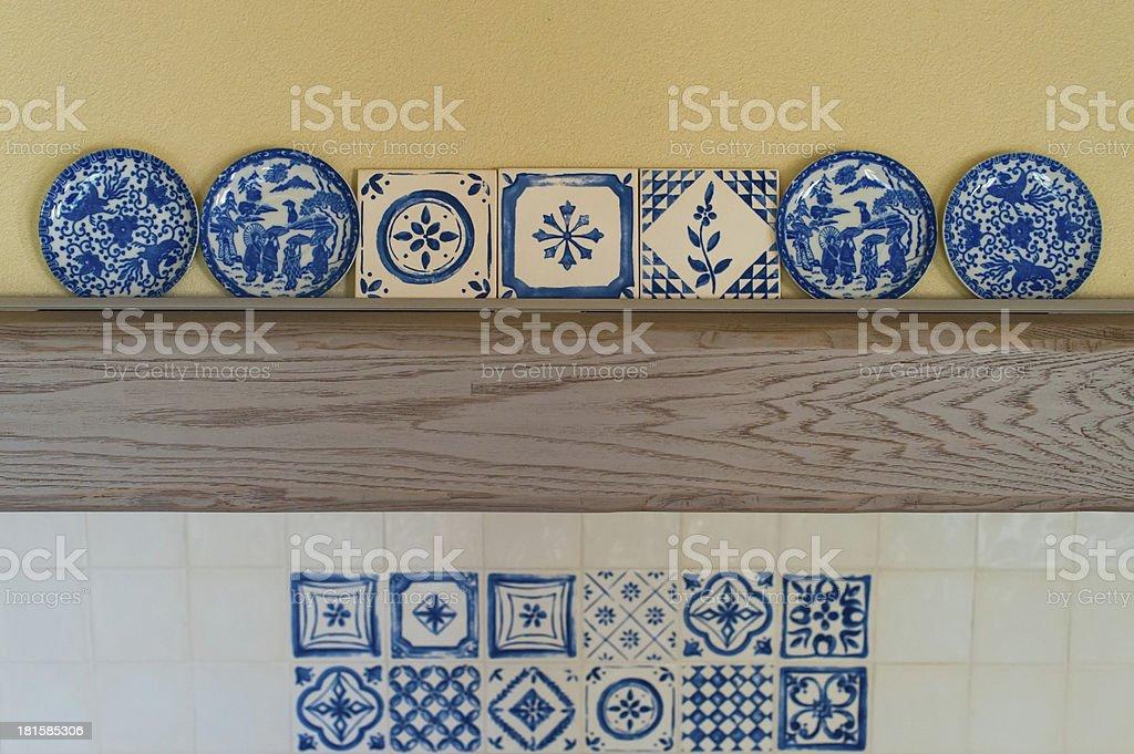 Kitchen decoration royalty-free stock photo