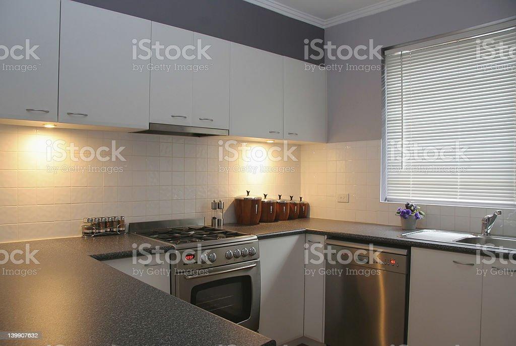 Kitchen design 2 stock photo