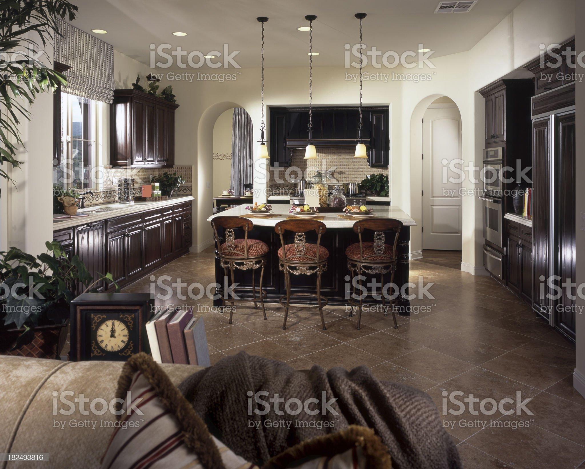 Kitchen Design Home Interior royalty-free stock photo