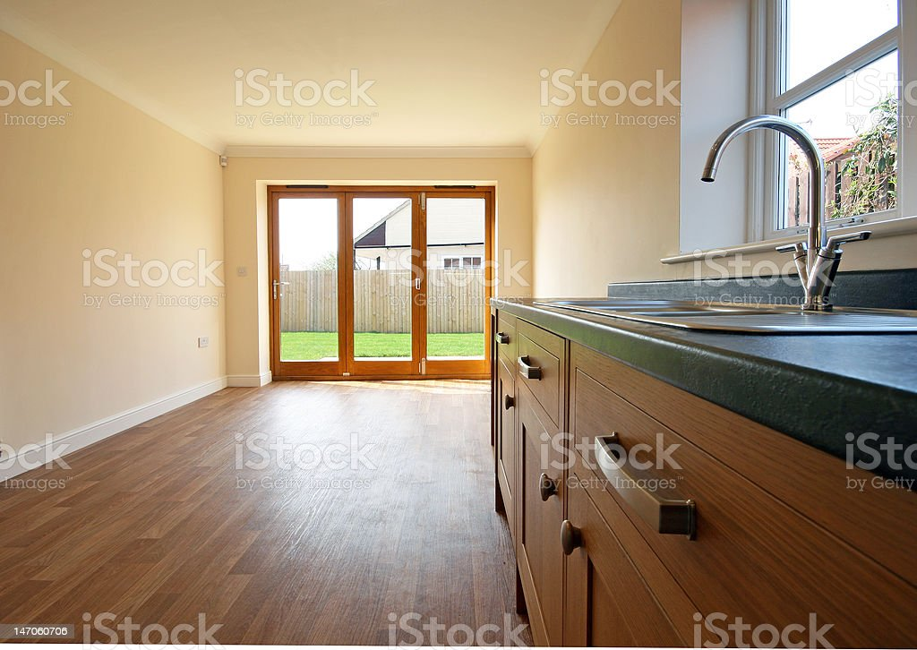 Kitchen & Dining Room stock photo