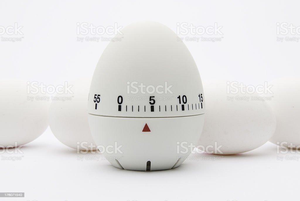 Kitchen egg timer royalty-free stock photo