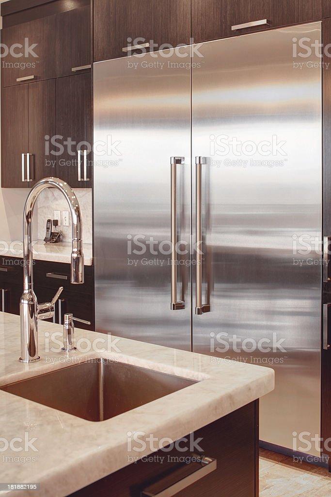 kitchen fridge royalty-free stock photo