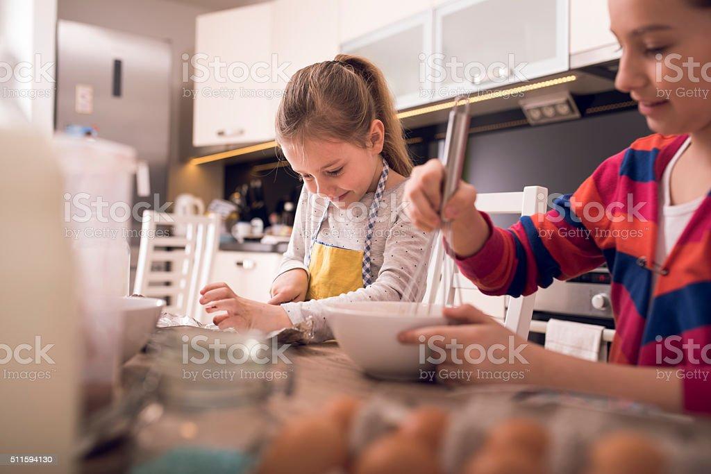 Kitchen fun stock photo