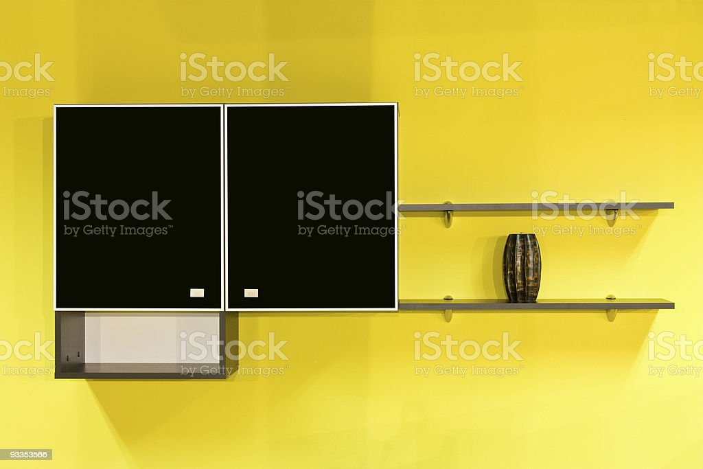 Kitchen furniture royalty-free stock photo