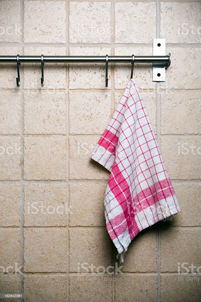 Kitchen, hanging alone stock photo