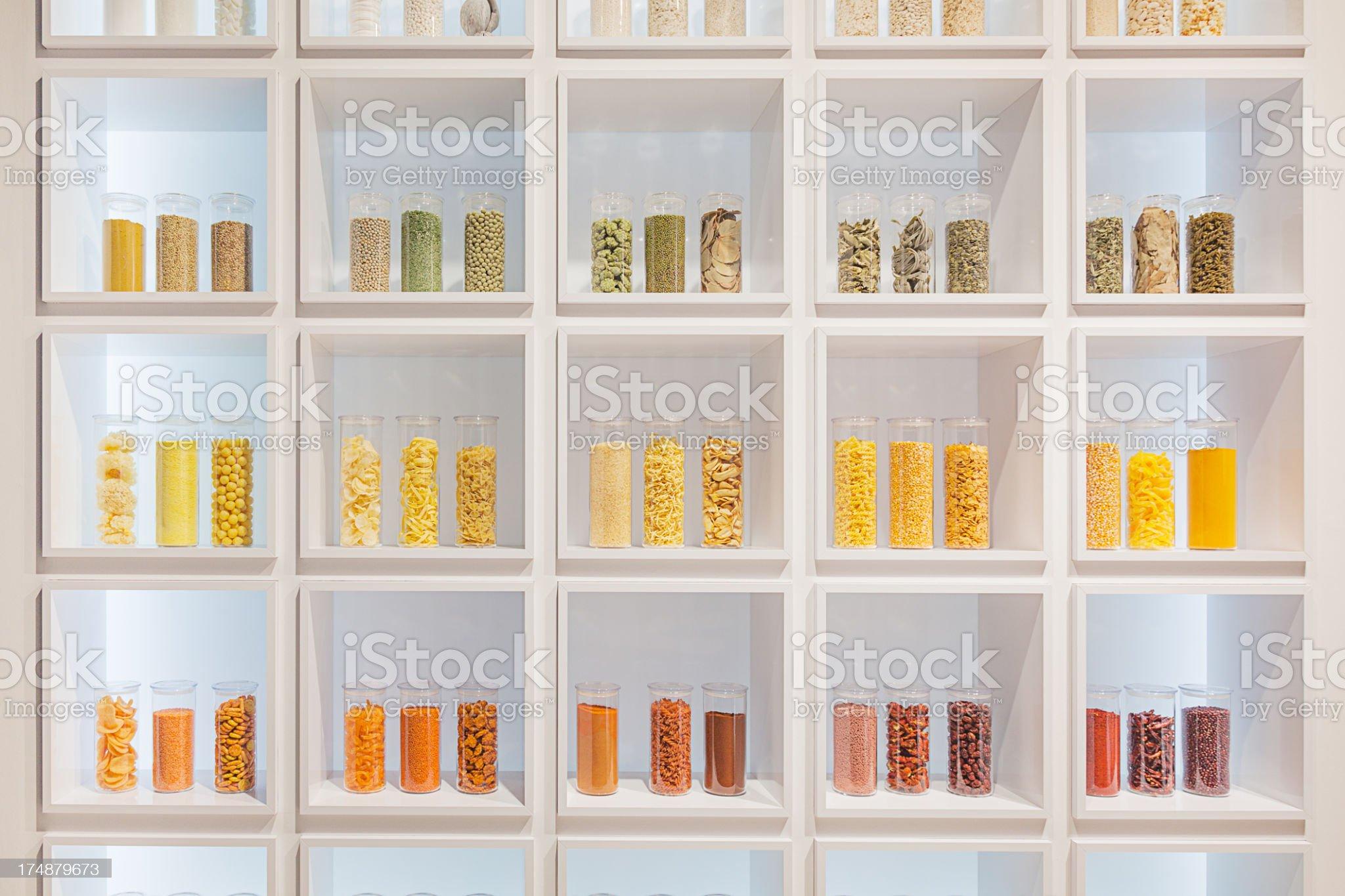 Kitchen herbs royalty-free stock photo