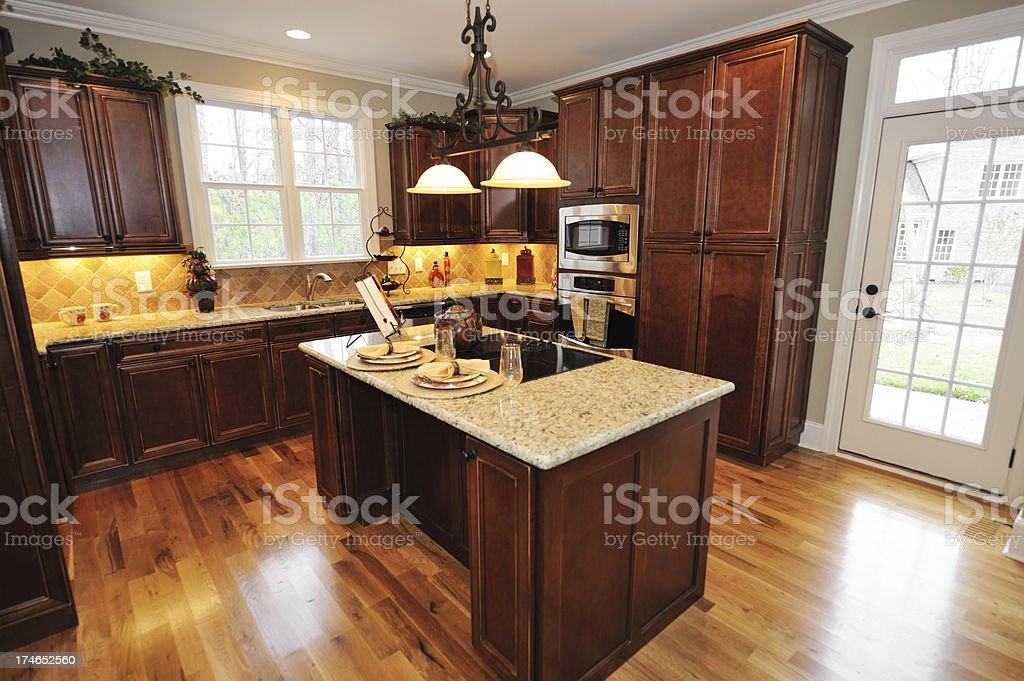 Kitchen Home Interior royalty-free stock photo