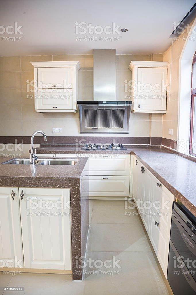 kitchen inside royalty-free stock photo