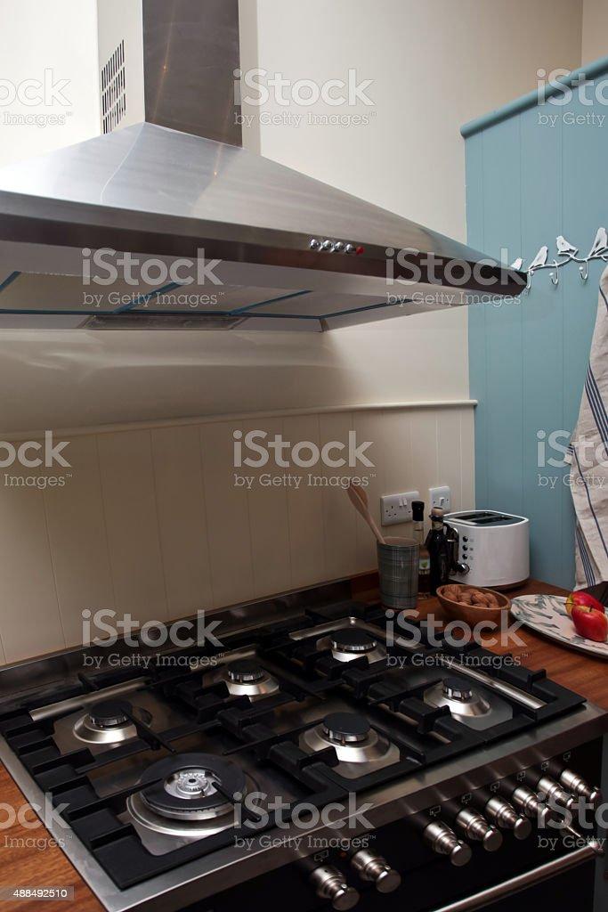 Kitchen interior stock photo