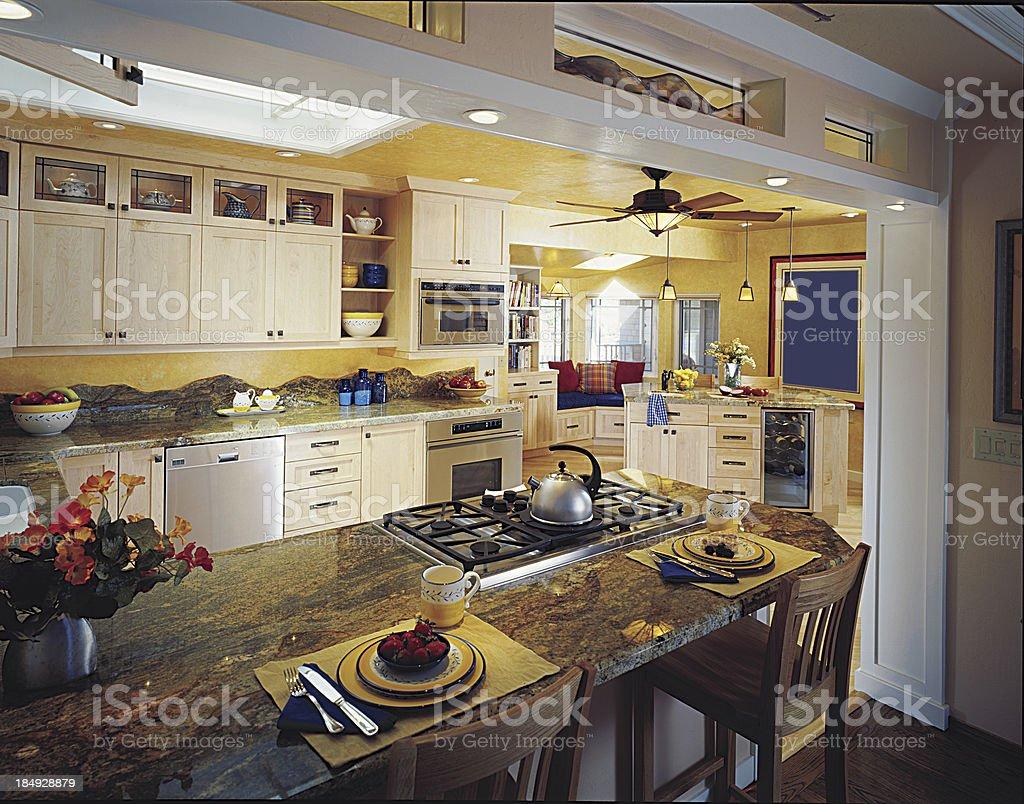Kitchen Island royalty-free stock photo
