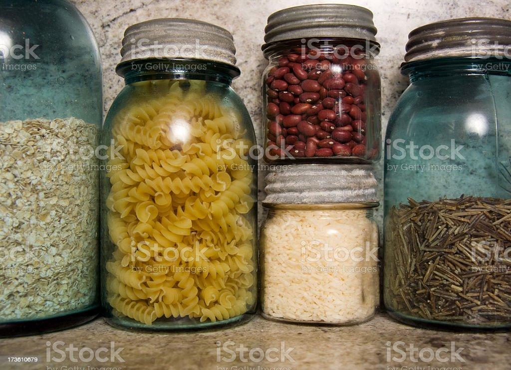 Kitchen Jars royalty-free stock photo