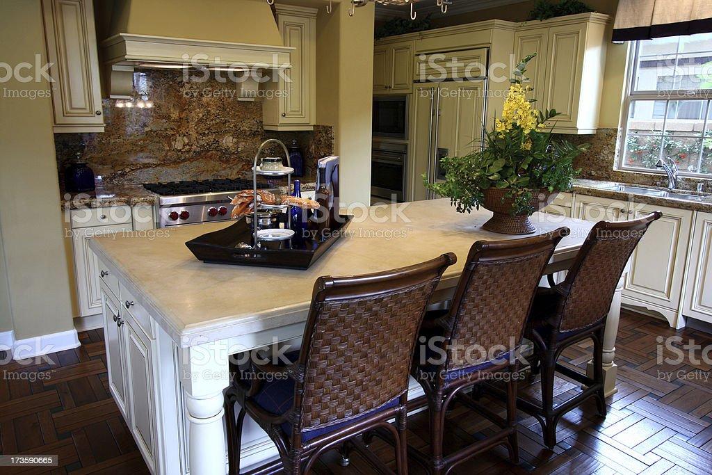 Kitchen Luxury royalty-free stock photo