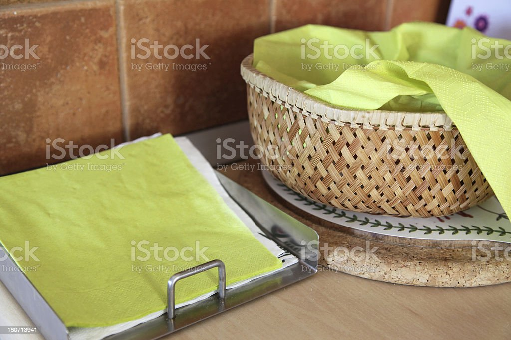 Kitchen objects royalty-free stock photo