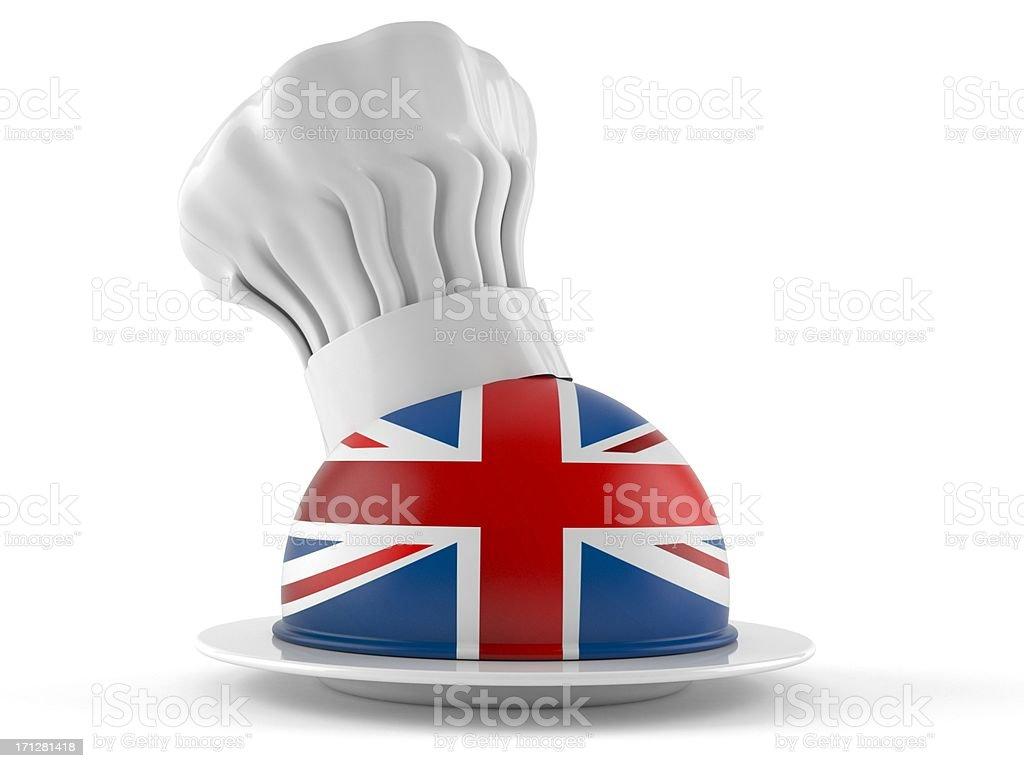 UK kitchen royalty-free stock photo
