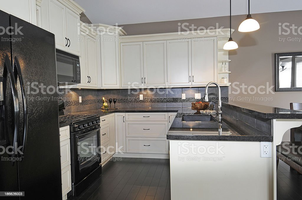 Kitchen royalty-free stock photo