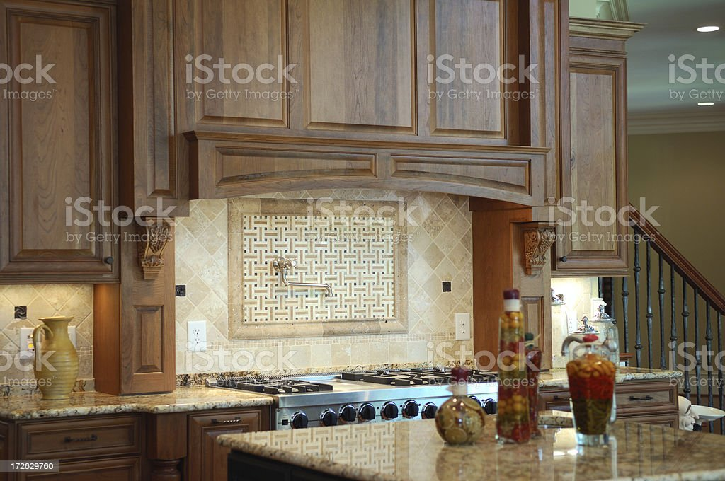 Kitchen Range royalty-free stock photo