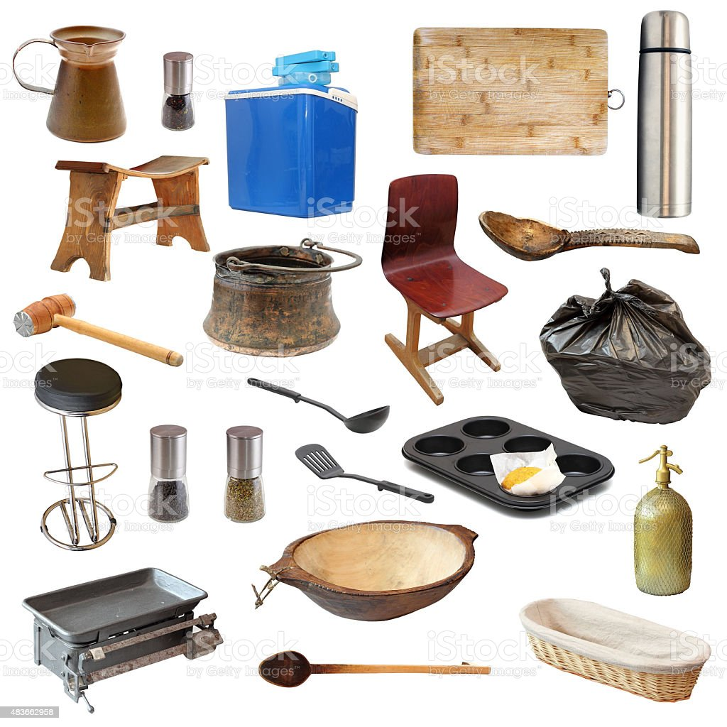 kitchen related objects stock photo