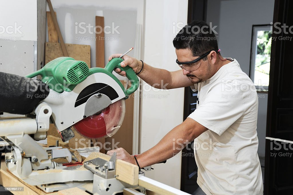kitchen remodel contractor royalty-free stock photo