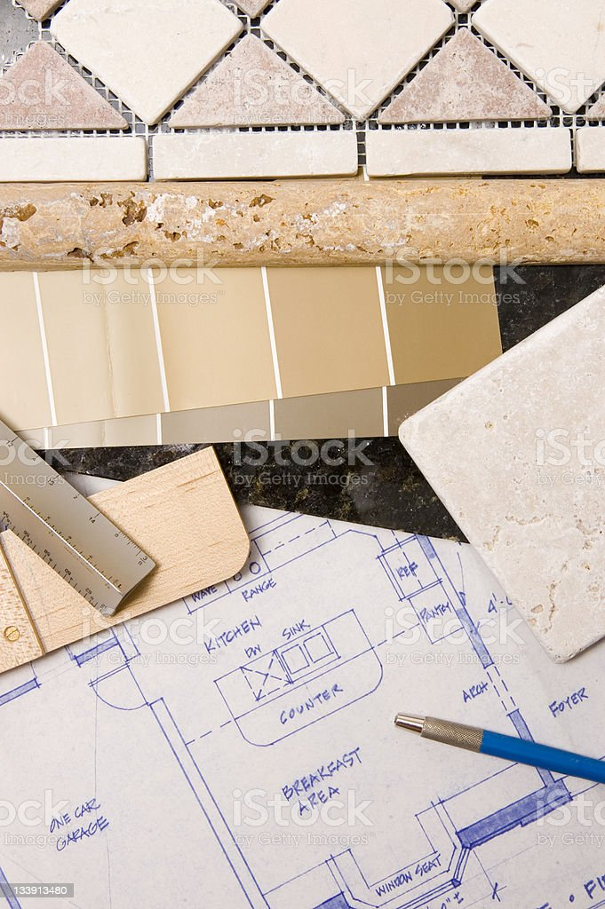 Kitchen Remodel royalty-free stock photo
