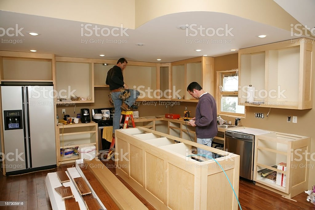 Kitchen Remodel stock photo