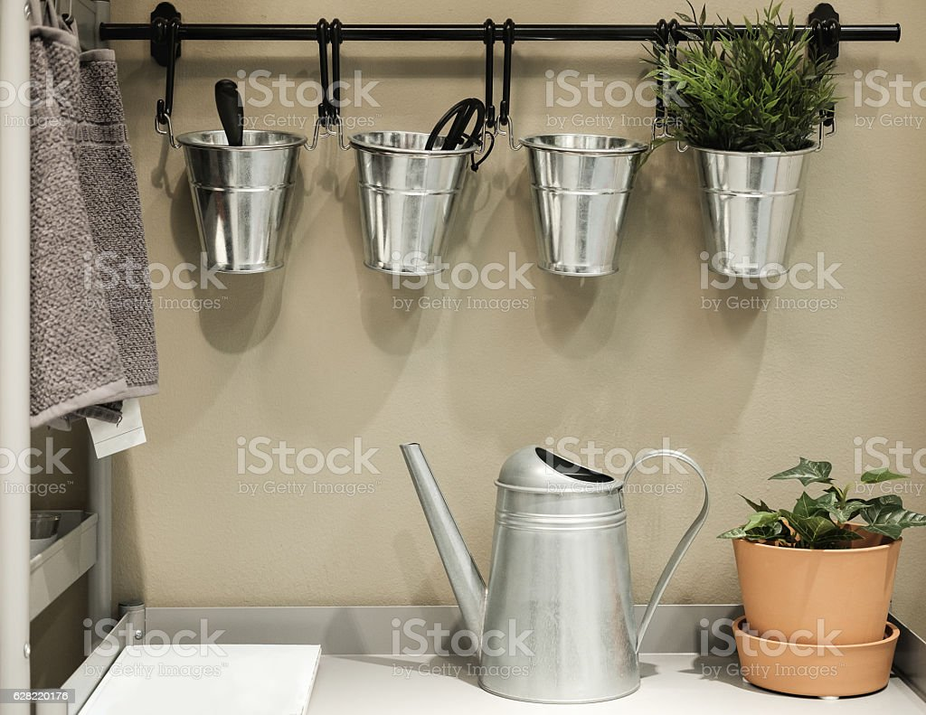 kitchen room stock photo