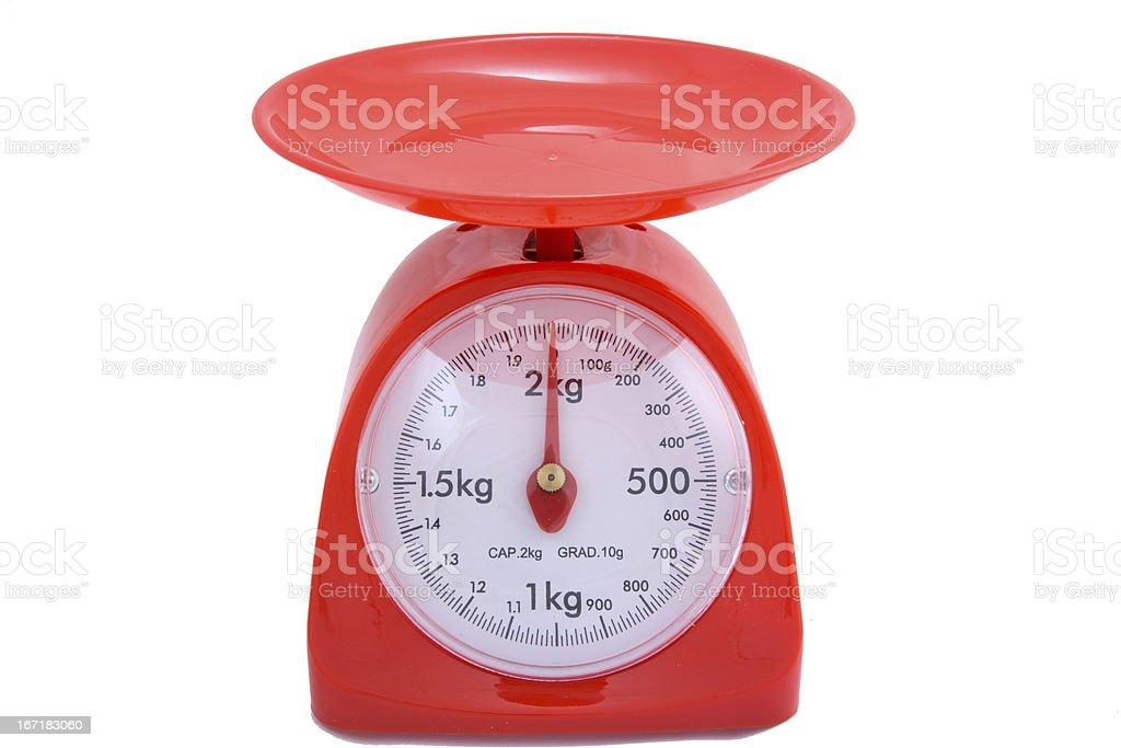 Kitchen Scale royalty-free stock photo