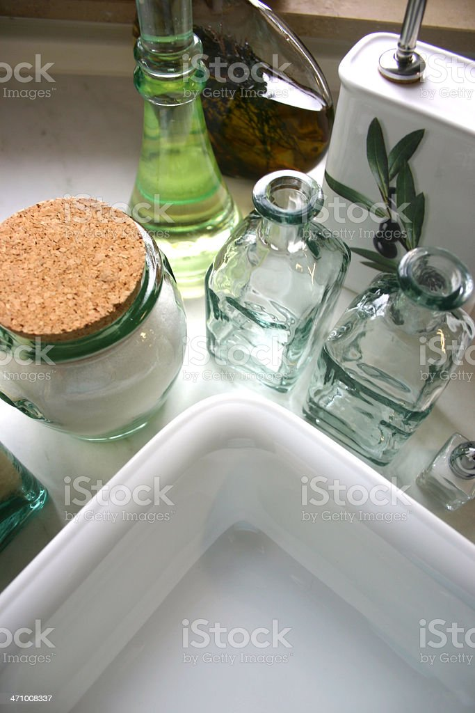 Kitchen scene royalty-free stock photo