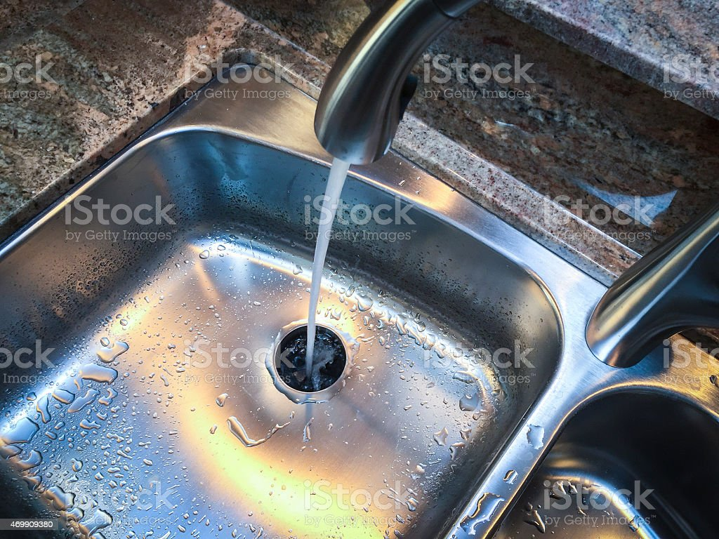 Kitchen Sink stock photo