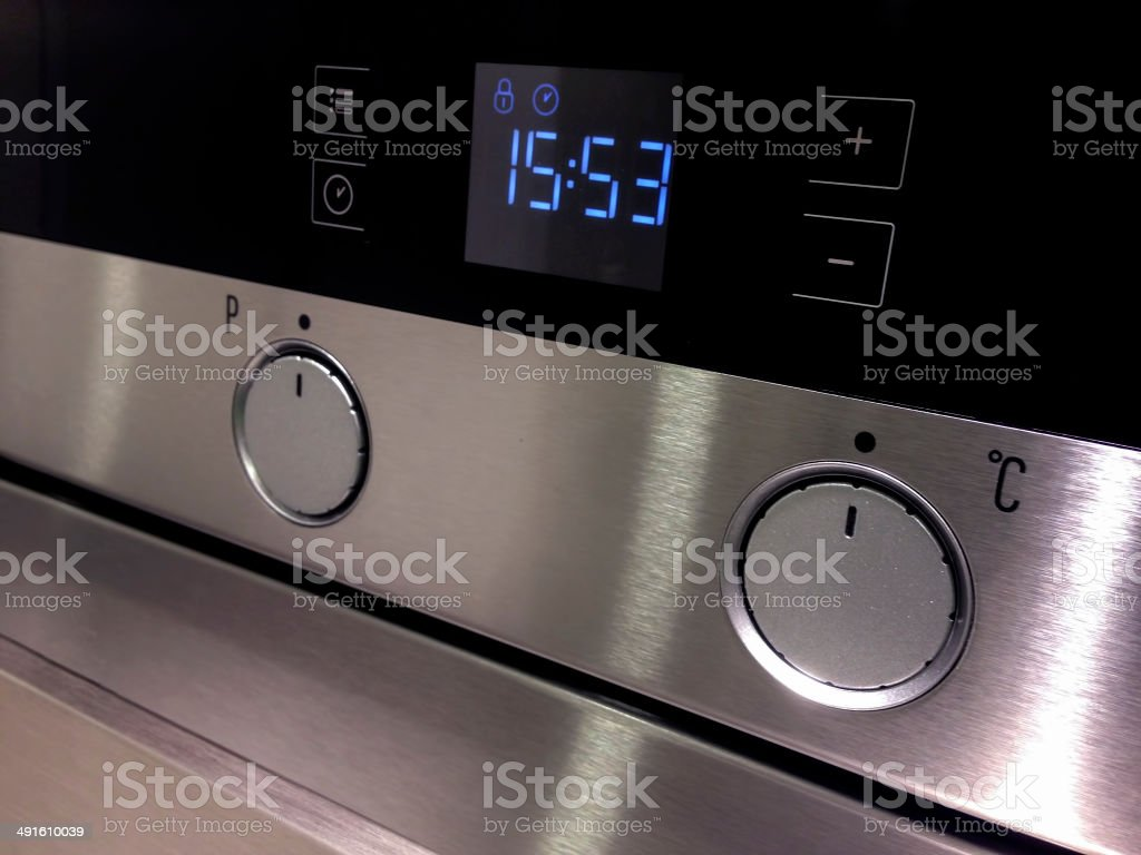 Kitchen Stove details stock photo
