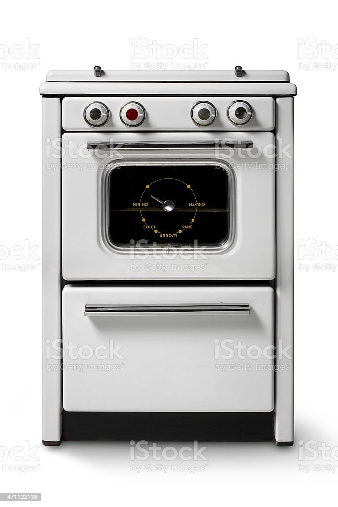 Kitchen stove royalty-free stock photo