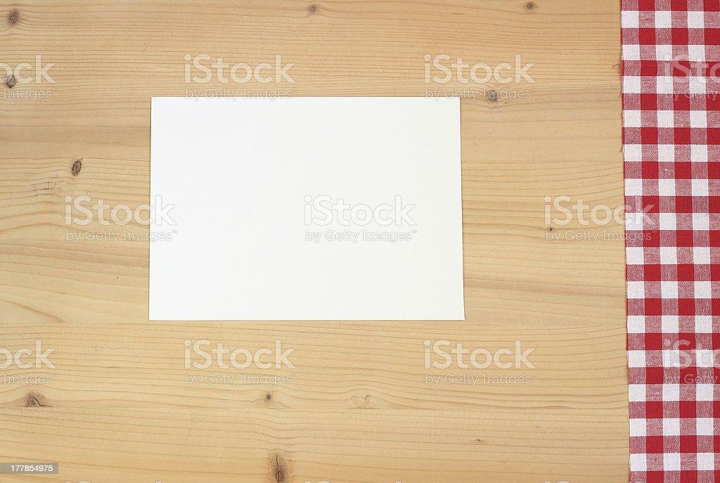 kitchen table royalty-free stock photo